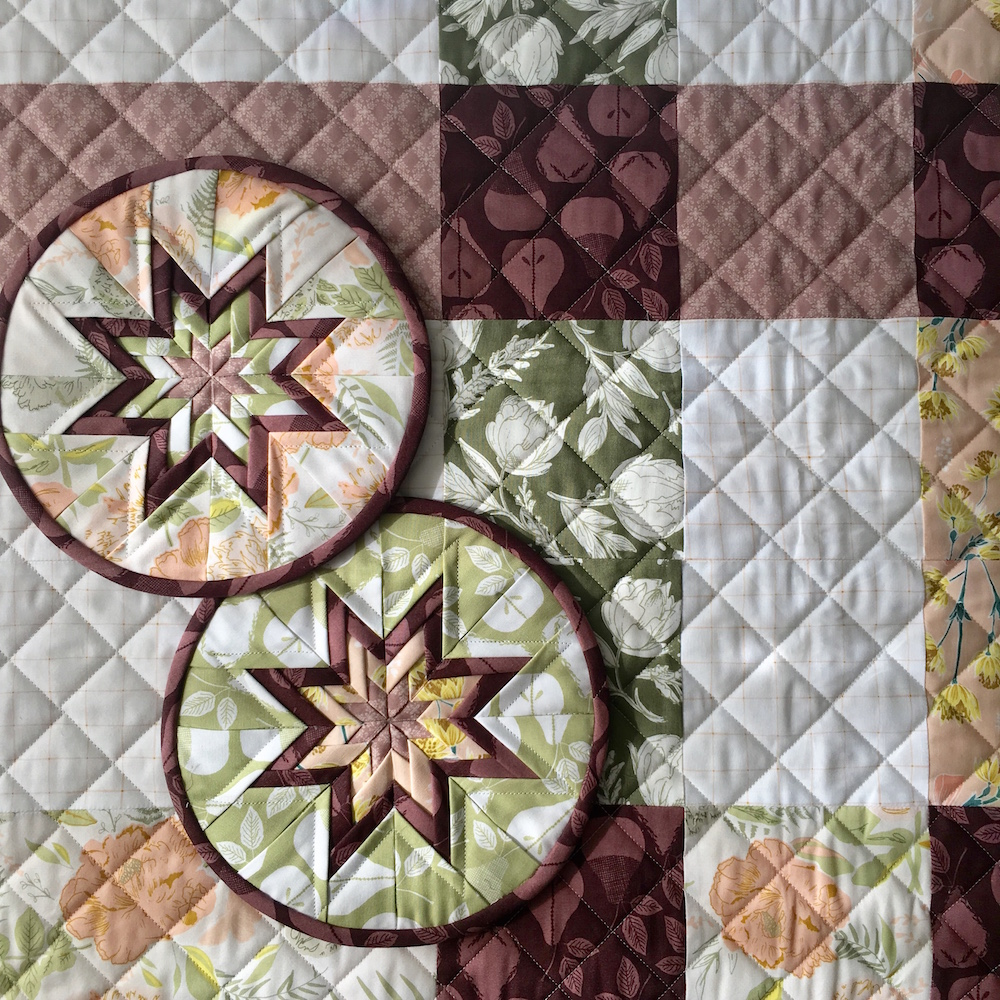 """Gathered"" fabrics by Bonnie Christine for Art Gallery Fabrics."