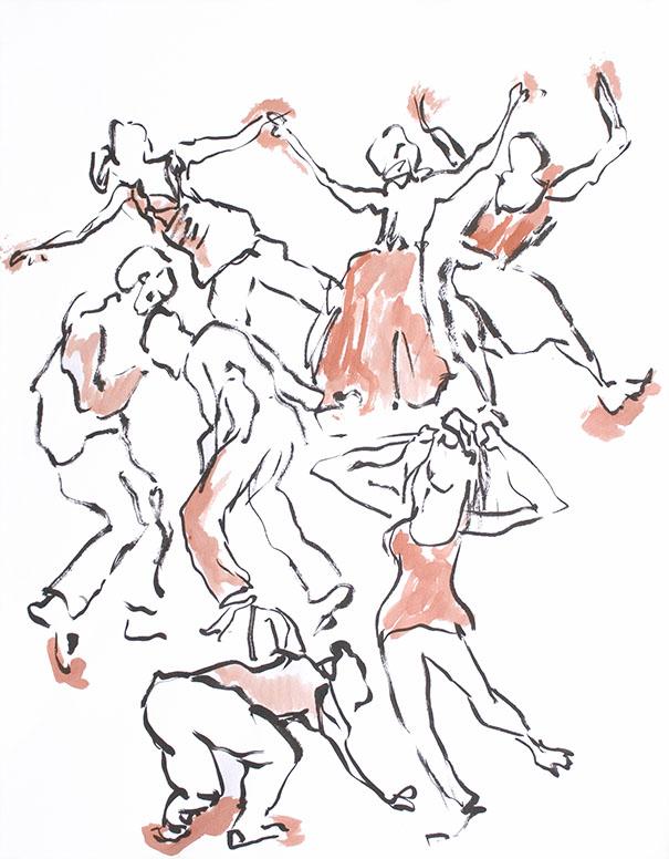 Dancing Brush 31
