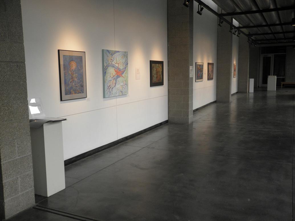 Thorndike Gallery looking south