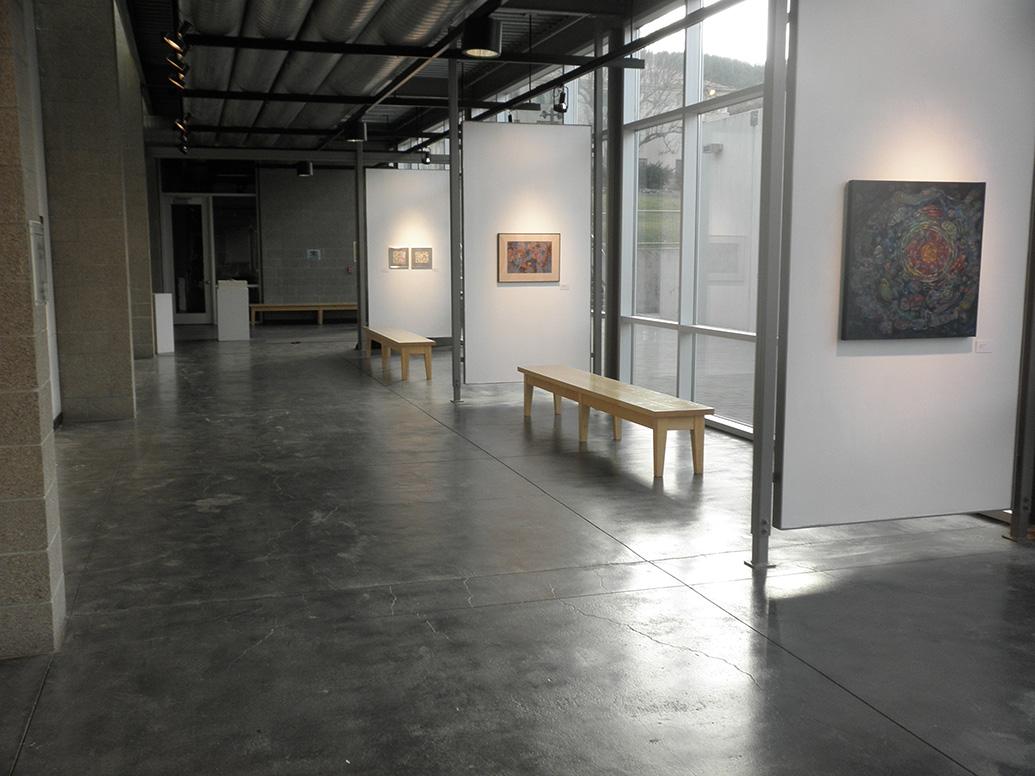 Thorndike Gallery looking north