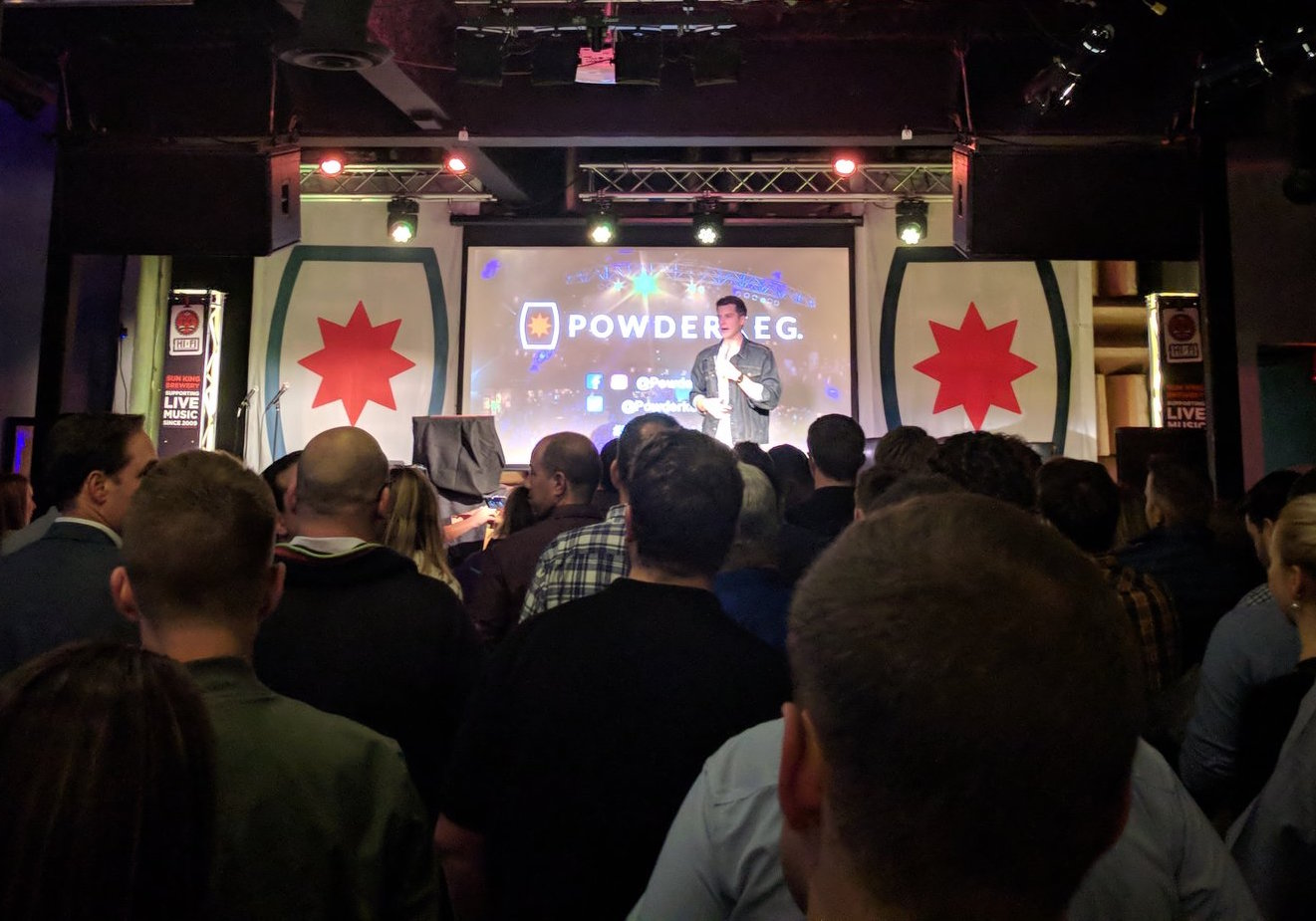 Final Powderkeg pitch night of 2017, which took place at the HI-FI.