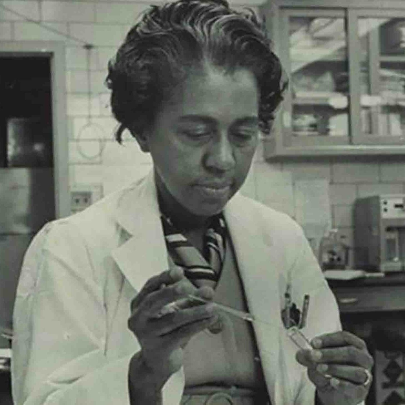Marie Maynard Daly was biochemist and the first African American woman in the U.S. to earn a Ph.D. in chemistry.