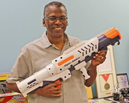 Lonnie Johnson is a NASA engineer best known as the inventor of the Super Soaker!