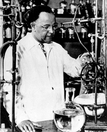 Percy Lavon Julian was the first African American chemist inducted into the National Academy of Sciences & his work with steroids led to treatments for diseases like rheumatoid arthritis & glaucoma. He also attended DePauw University right here in Indiana!