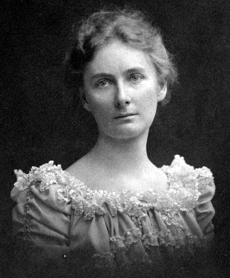 Florence Bascom was the 1st woman to be hired by the U.S. Geological Survey & the 1st woman to earn a Ph.D. from Johns Hopkins. She's most known for her work with petrography (the description & classification of rocks, usually by microscopic study).
