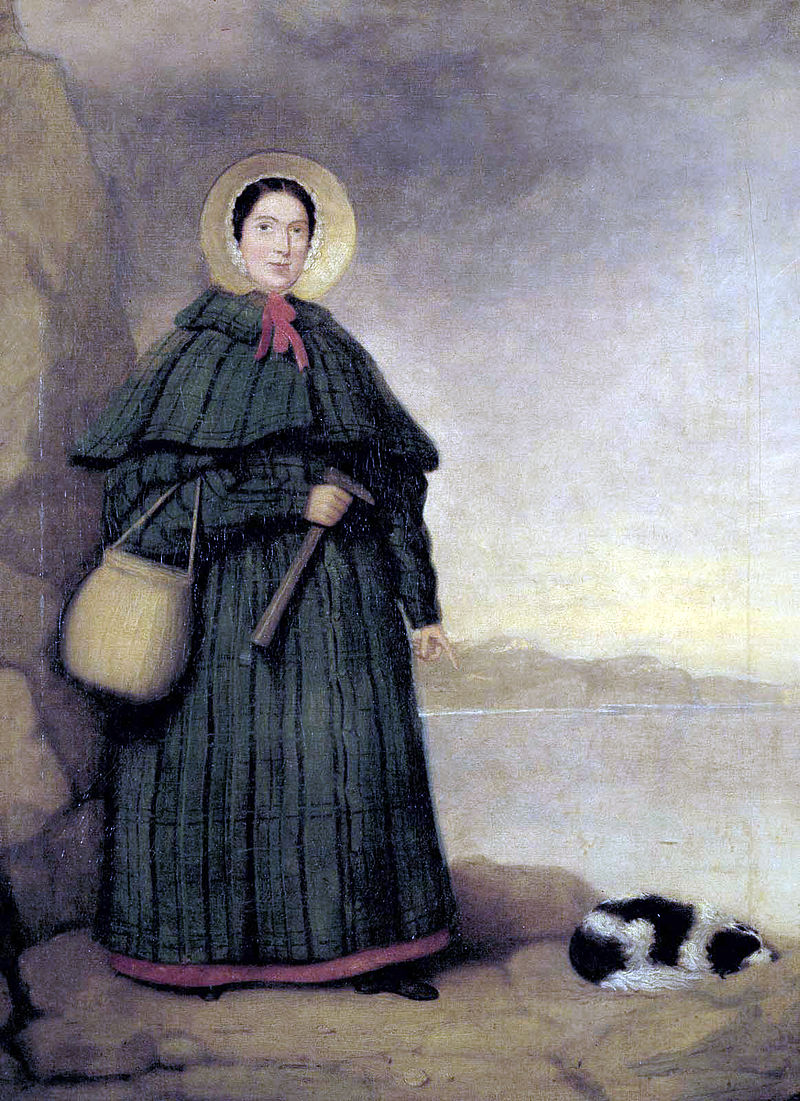 Mary Anning was a paleontologist in the early 1800s who became world renowned for Jurassic marine fossils she discovered in the cliffs along the English Channel & contributed to important changes in scientific thinking about prehistoric life.