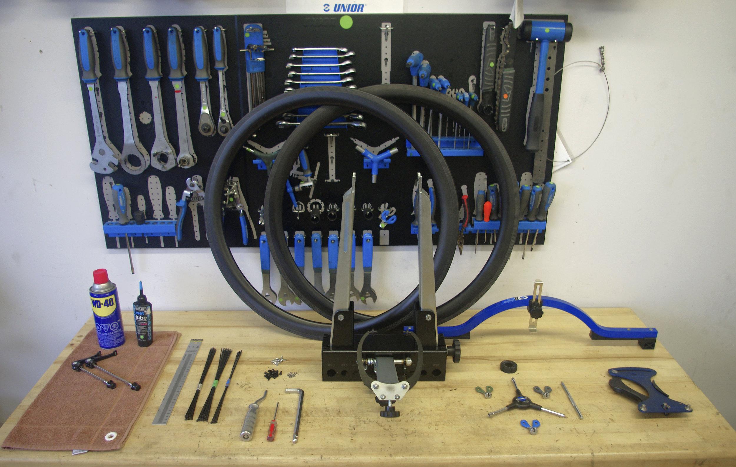 Une vue d'ensemble du matériel de base