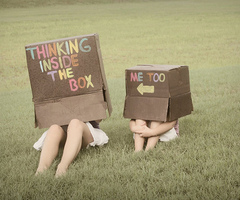 THINK INSIDE THE BOX