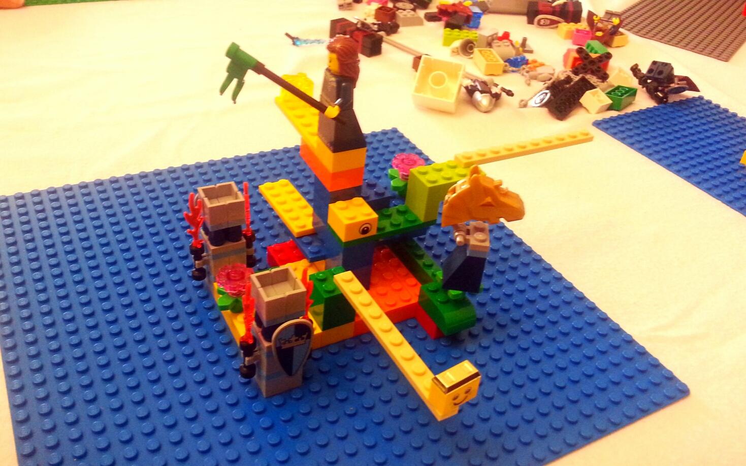 Lego coaching process