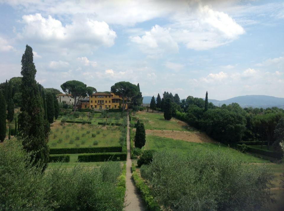 1) Pick grapes at a vineyard:Villa La Pietra, Italy 2013
