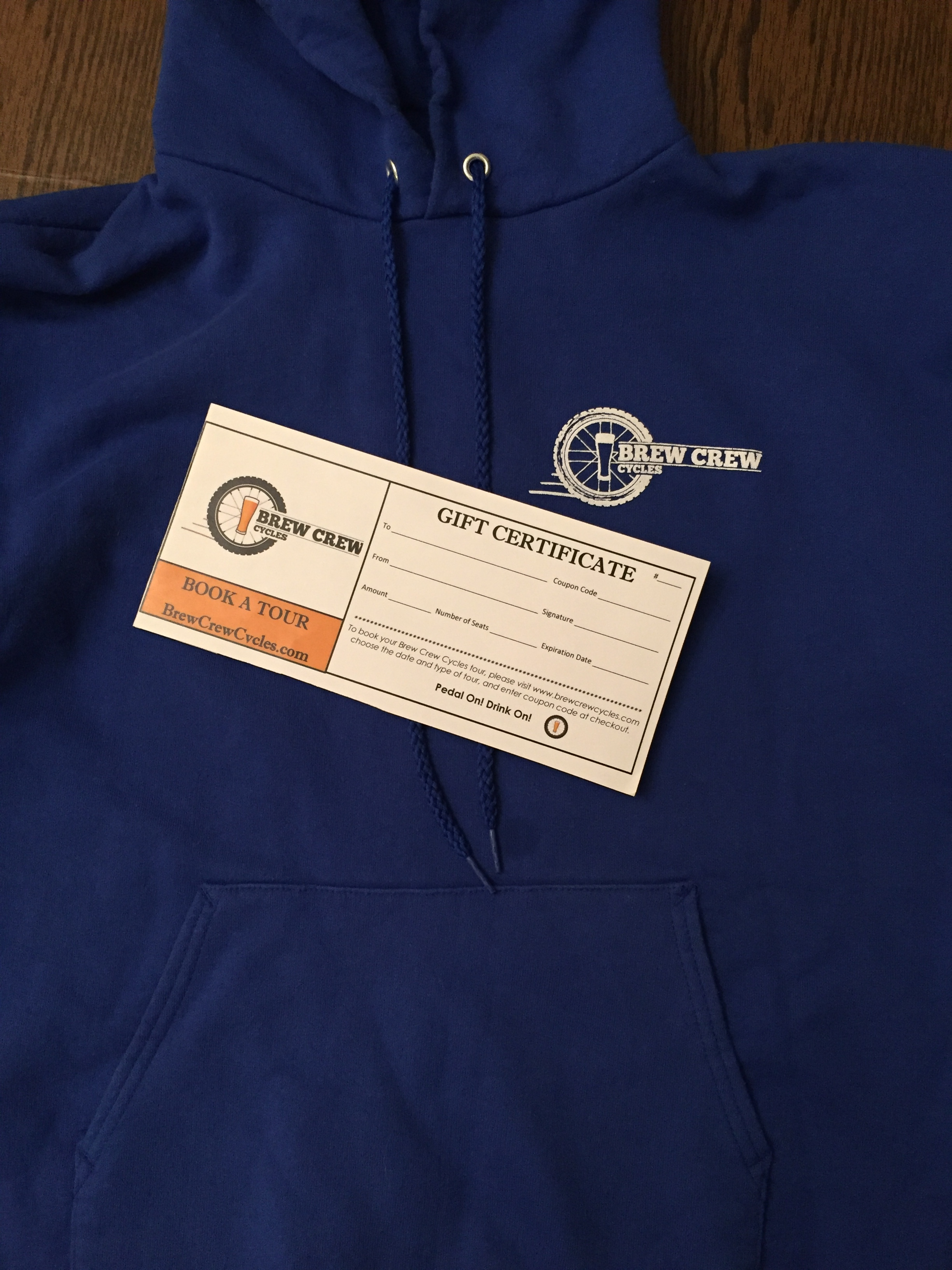 Sweatshirt Gift Package for Two