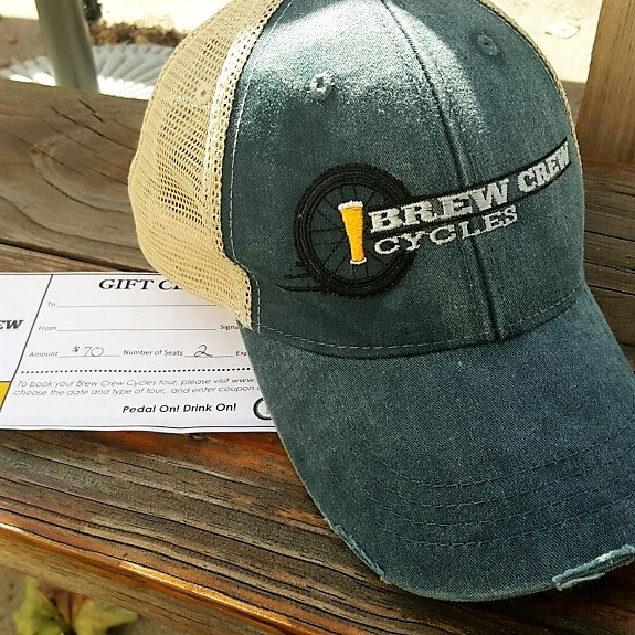 Trucker Hat Package for Two: $115 - This couple can ride in style with these comfortable and chic hats and two seats on a weekend tour.