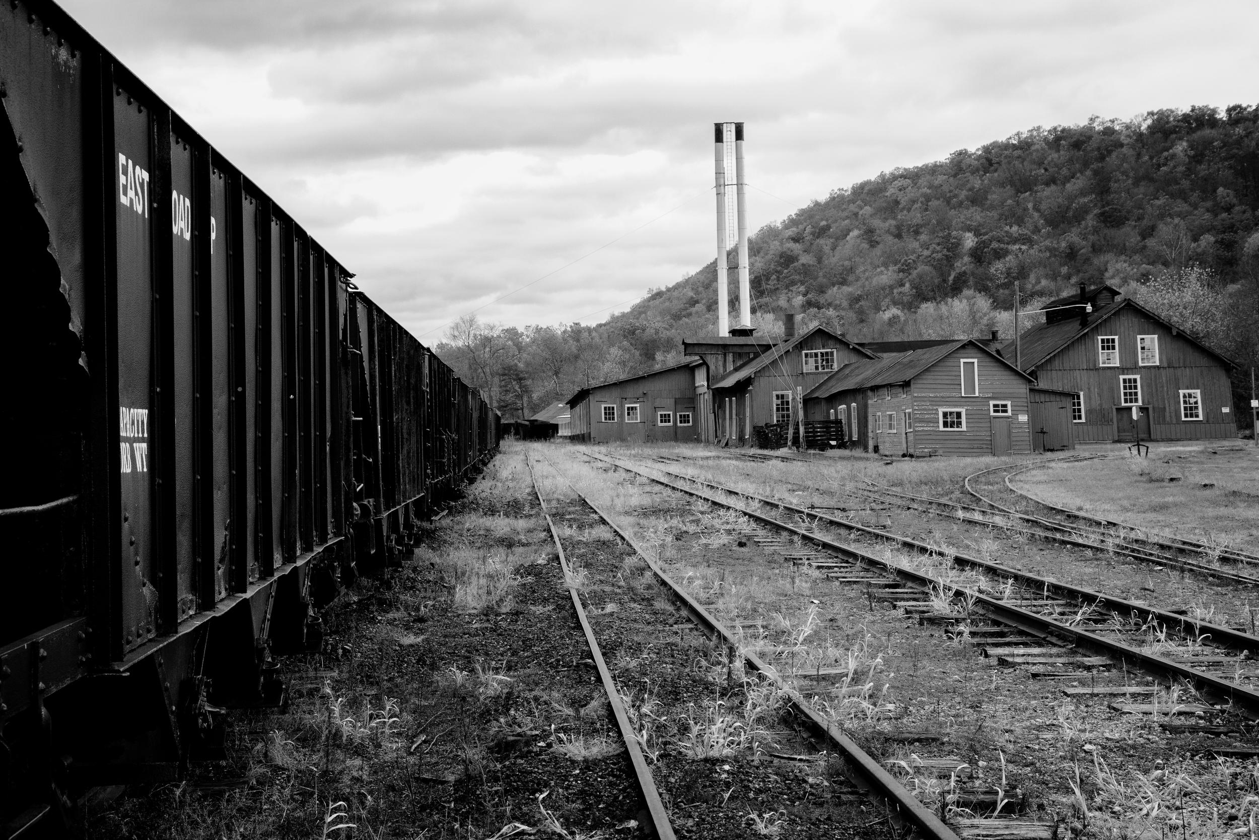 Vintage Train Yard