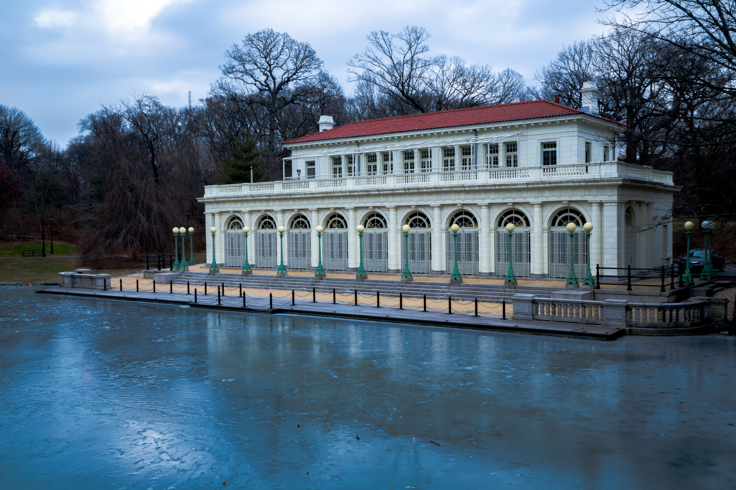Prospect Park Boat House - Winter
