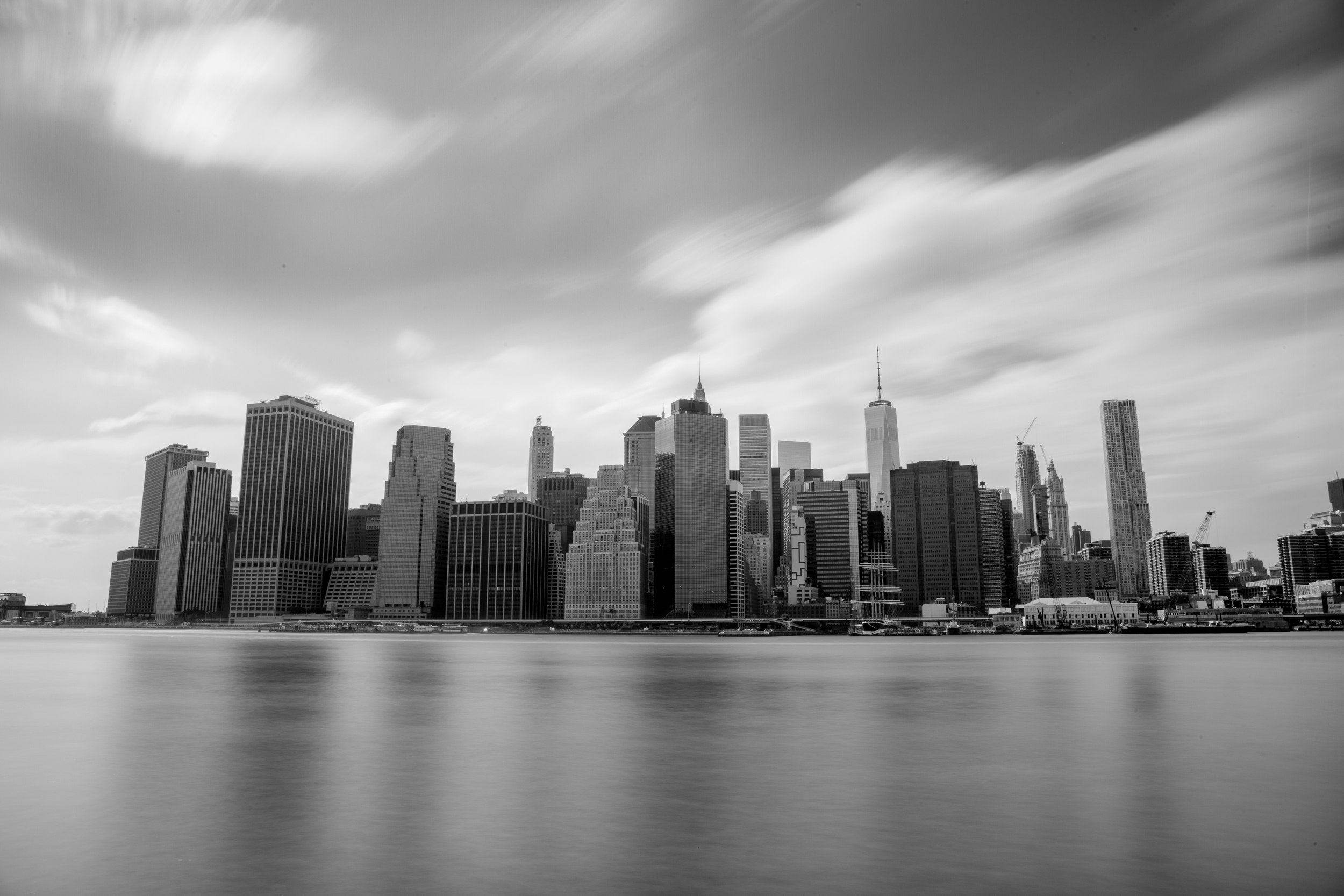 Financial District Skyline, NYC