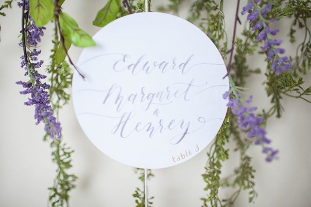 Delicate watercolor calligraphy in this icy lavender gray and champagne gold accent table number.⠀ .⠀ Missing my calligraphy practice. Only 2 1/2 weeks before the relocation and I can set up my office and surround myself with my art supplies once again. 🥳⠀ .⠀ Planning & Design: @verveeventco⠀⠀⠀ Photography: @lovebug.photography.ny⠀⠀⠀ Stationery: @heliconpaper⠀⠀⠀⠀ Venue: The Rabbit Room⠀⠀ .⠀⠀⠀ #escortcards #moderncalligraphy #watercolorcalligraphy #weddingpaperinspiration #medievalwedding #fairytalewedding #springwedding #thatsdarling #flashesofdelight #eventswithverve #heliconpaper