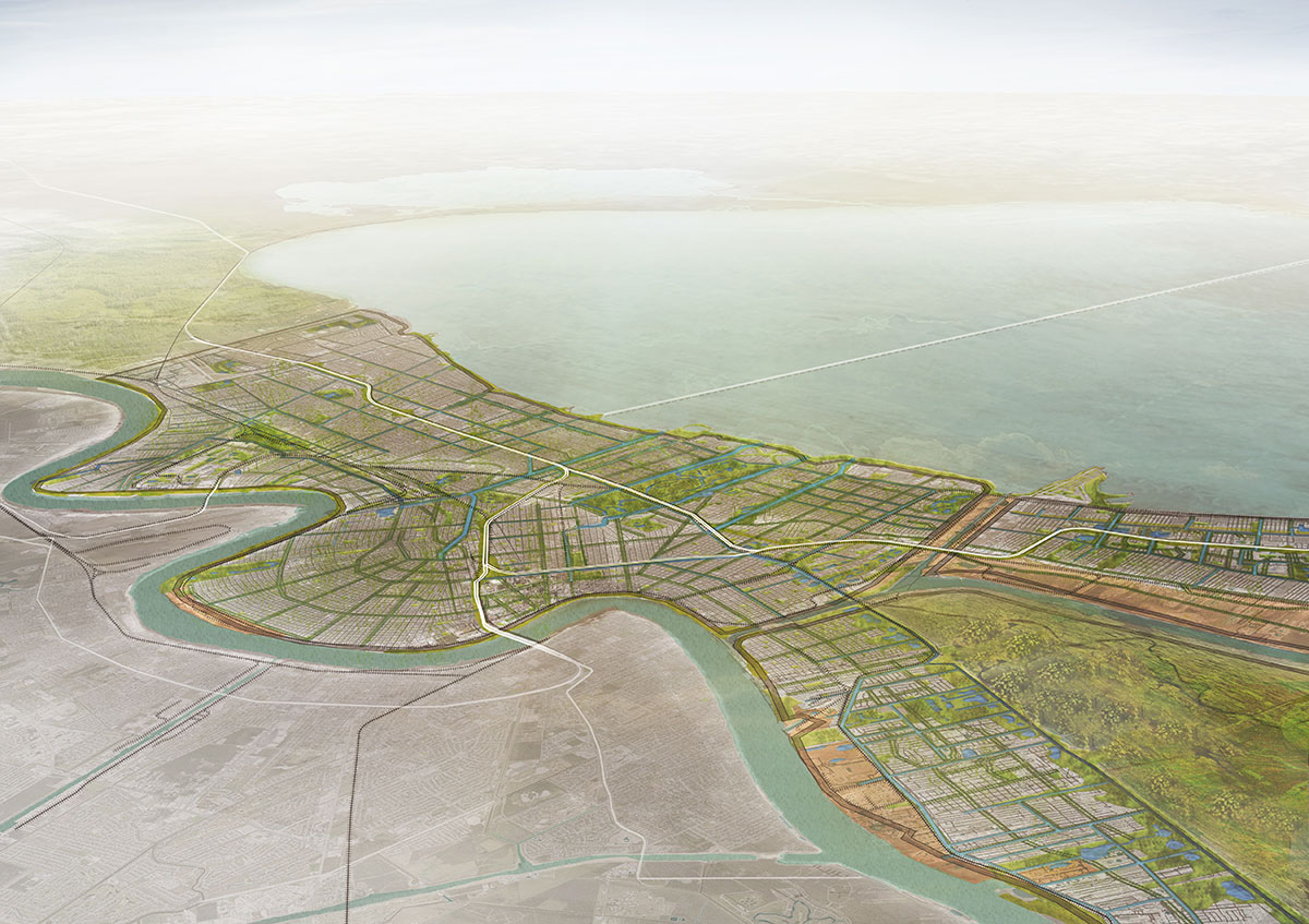 Image credit: Waggonner & Ball Architects via  Greater New Orleans Urban Water Plan