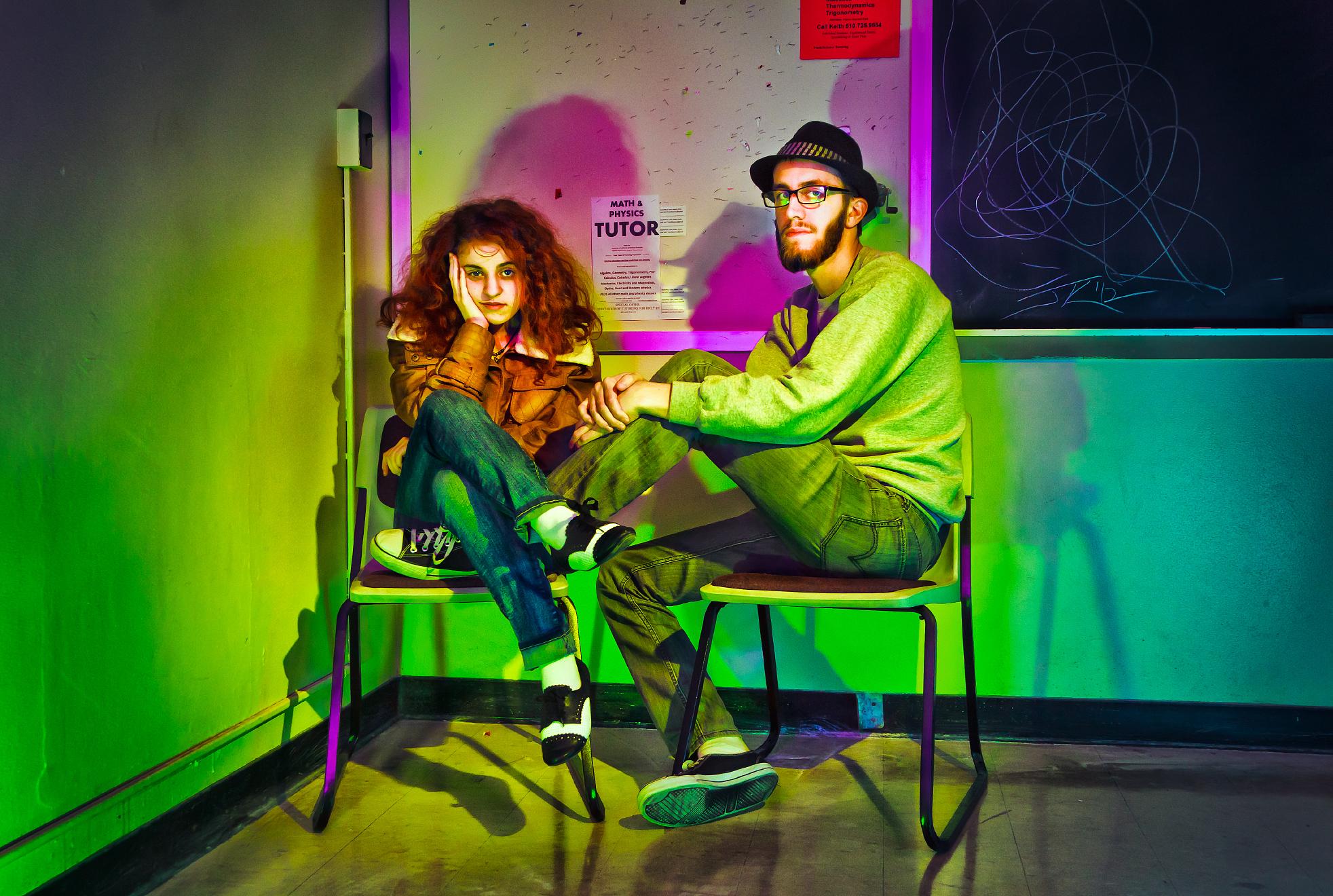 Sh[chair]in'; Katherine Anastasio and Travis LaRiviere