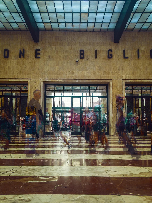 Firenze Santa Maria Novella  railway station.