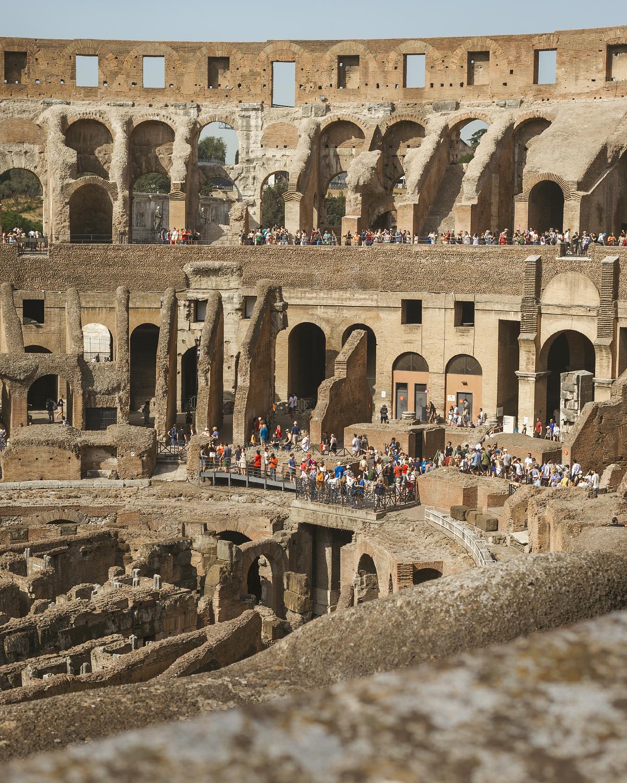 Colosseum interior.