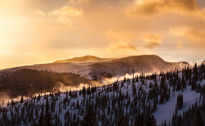 Peak 10, Breckenridge, Colorado; 2018.