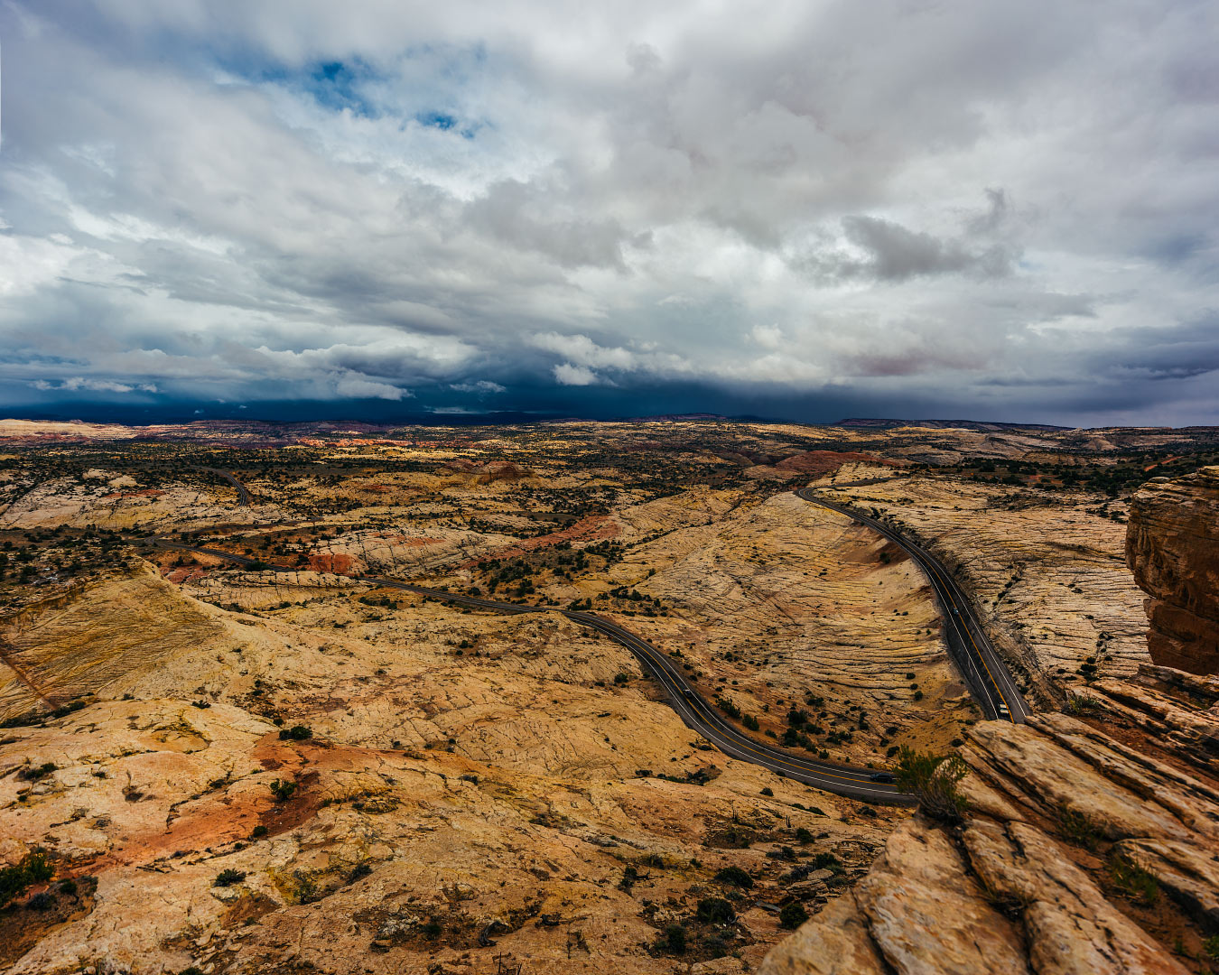 Head of the Rocks Overlook, Utah.