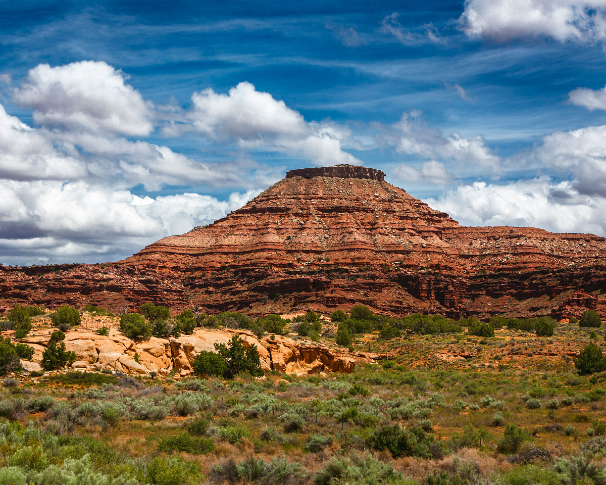 A typical scene at Canyonlands.