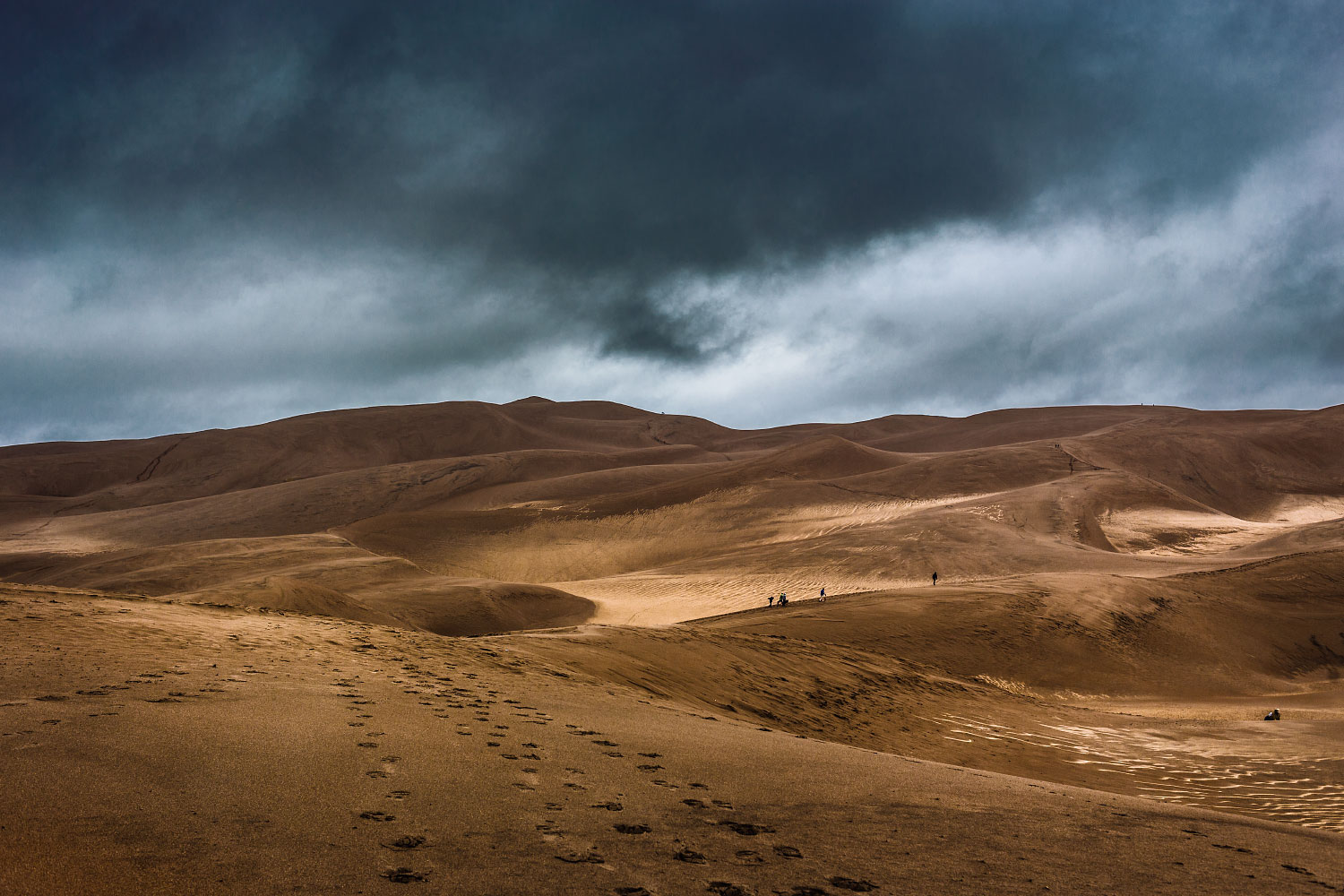 Wet sand dunes are a different experience altogether.