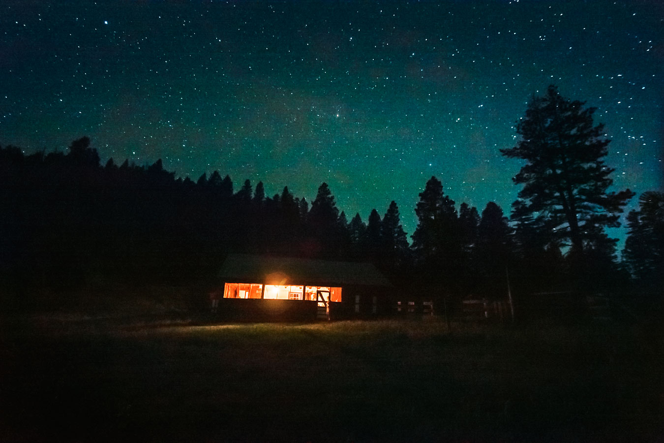 Stars over Rich Cabins, Philmont Scout Ranch; 2012
