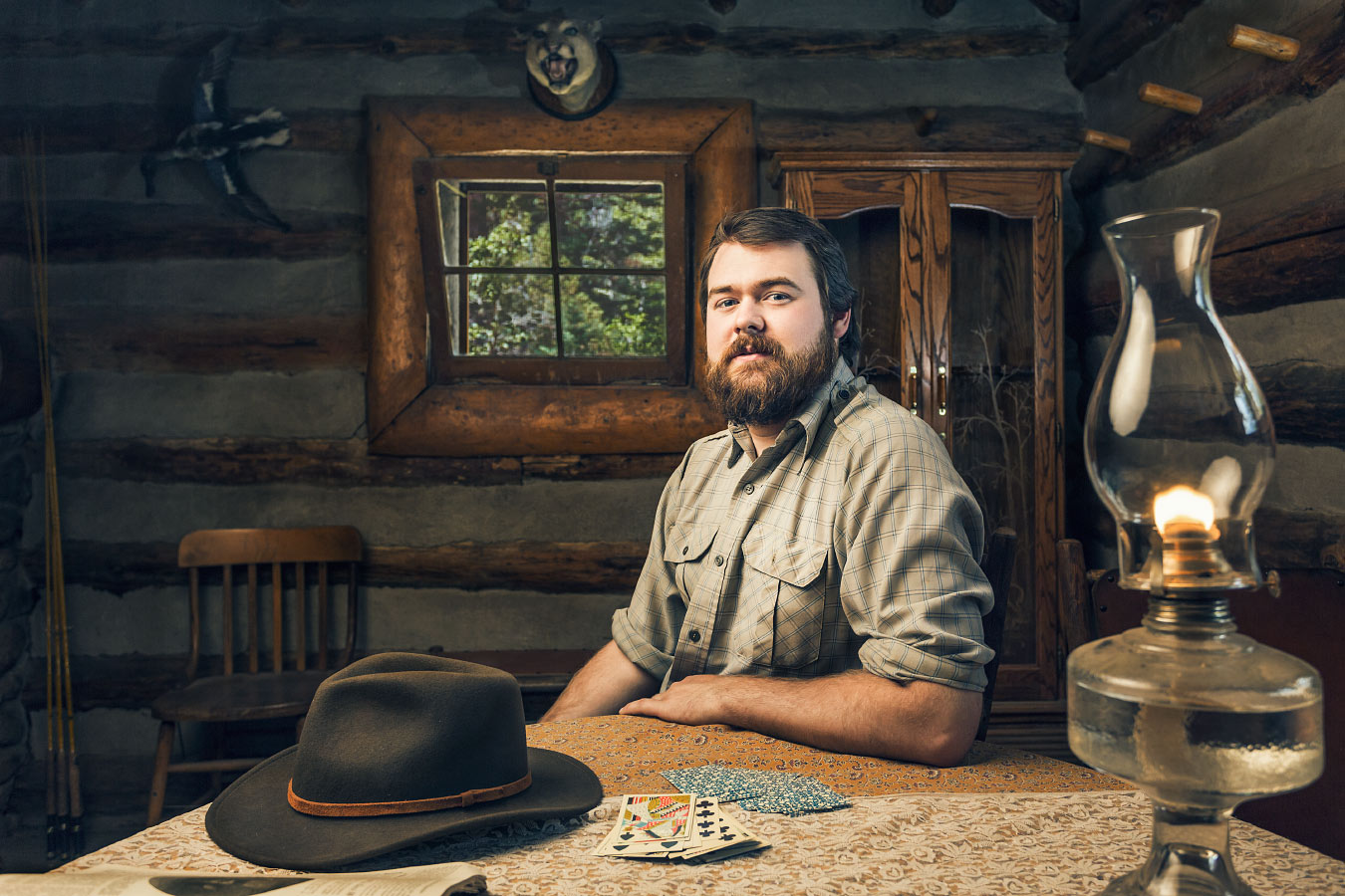 Will McKinney, Homesteader, The Hunting Lodge, Philmont Scout Ranch Cimarron New Mexico