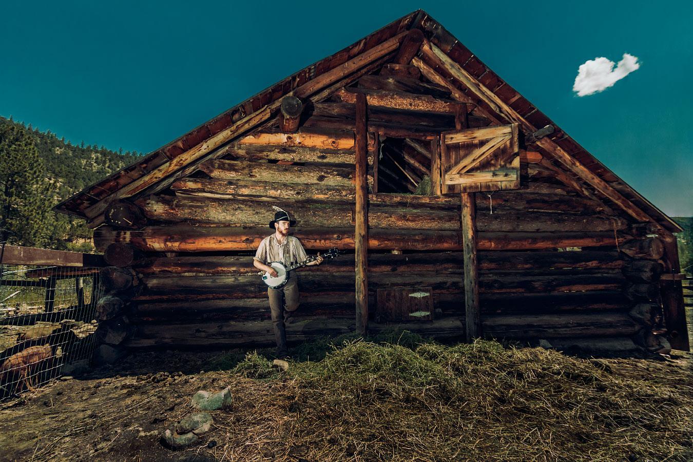 Trey DuBard Homesteader Rich Cabins Philmont Scout Ranch Cimarron New Mexico