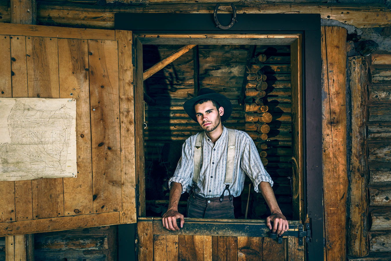 Andrew Horner Rancher Crooked Creek Philmont Scout Ranch Cimarron New Mexico
