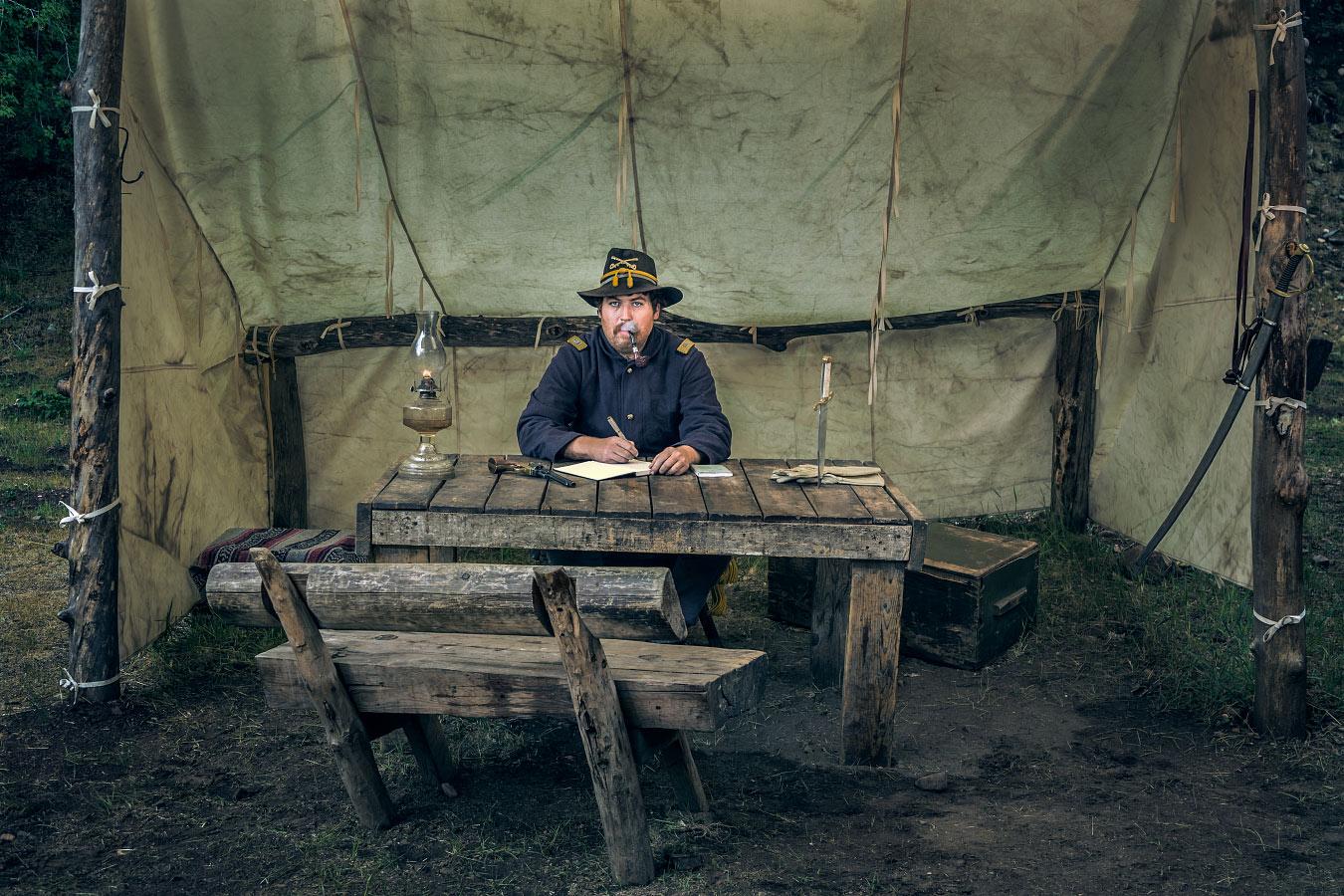 Reid Shortridge Soldier Black Mountain Philmont Scout Ranch Cimarron New Mexico
