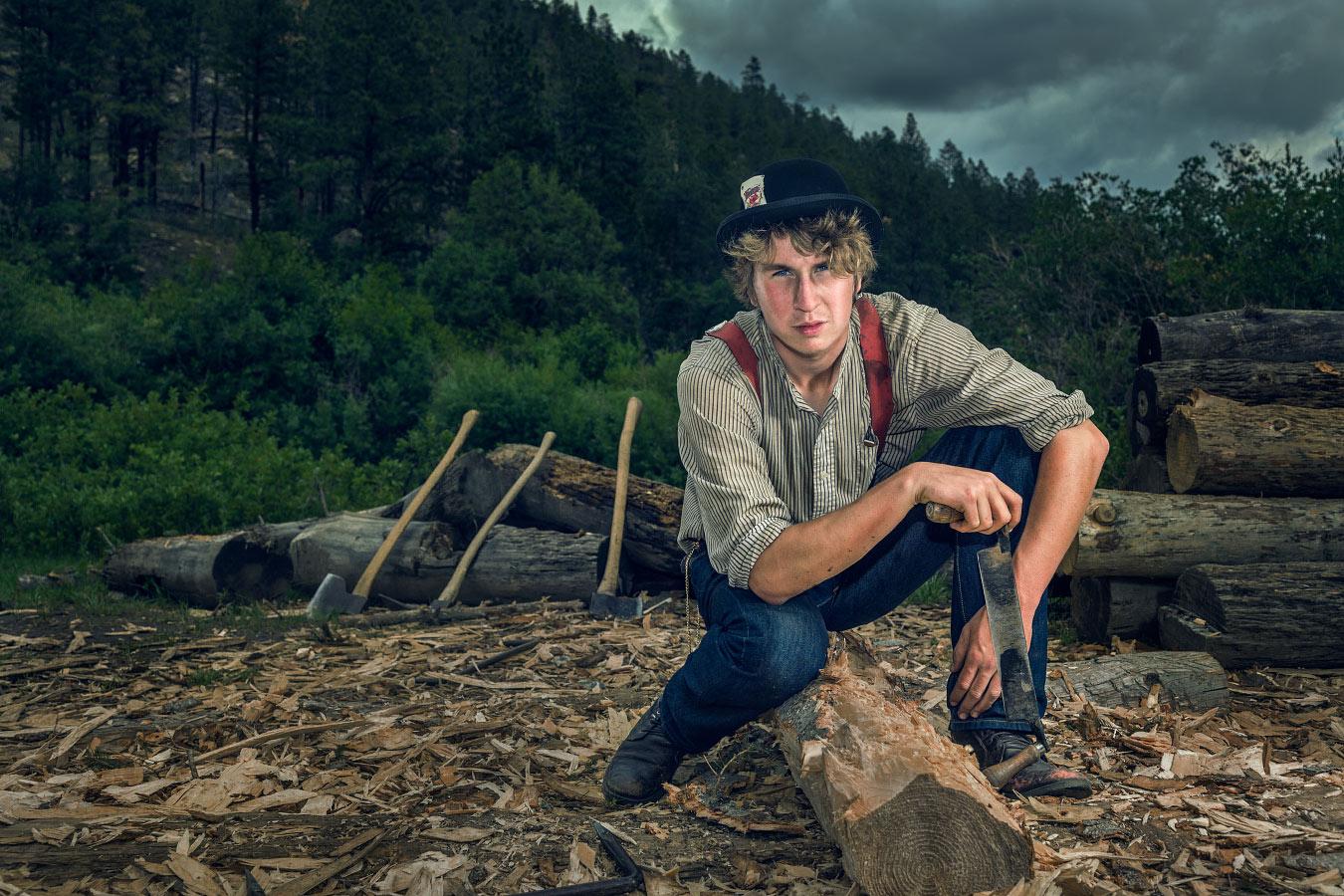 Zachary Garmoe Logger Pueblano Philmont Scout Ranch Cimarron New Mexico