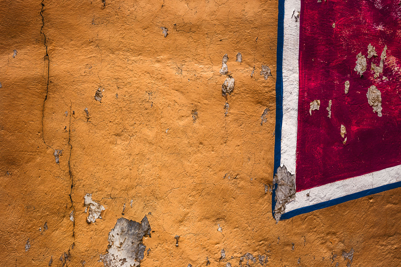 Taos New Mexico wall abstract.