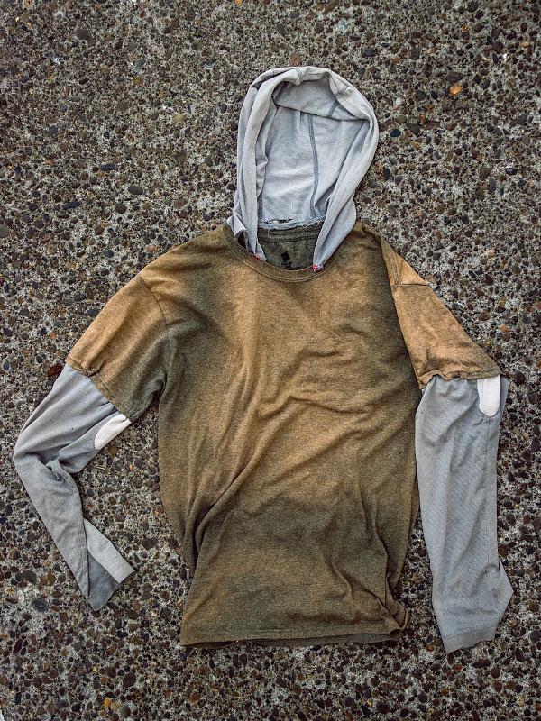 'Shirt v3.5' lasted miles 1340-1717.