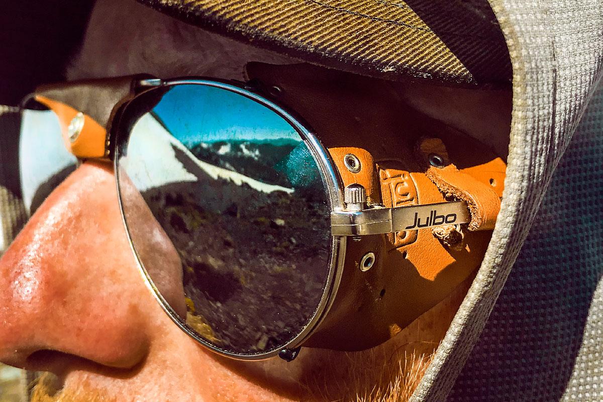 Julbo Cham sunglasses. Perfect for the Sierra.