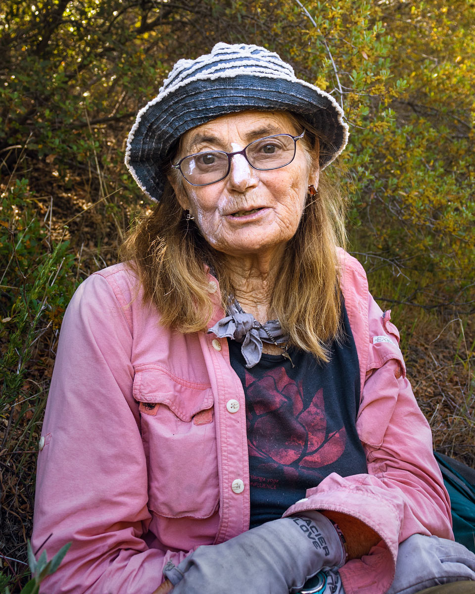 """Nona from Nowhere"", has hiked all three long-distance trails in North America."