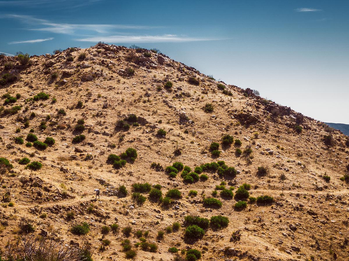 San Felipe Hills, California, mile ~86.