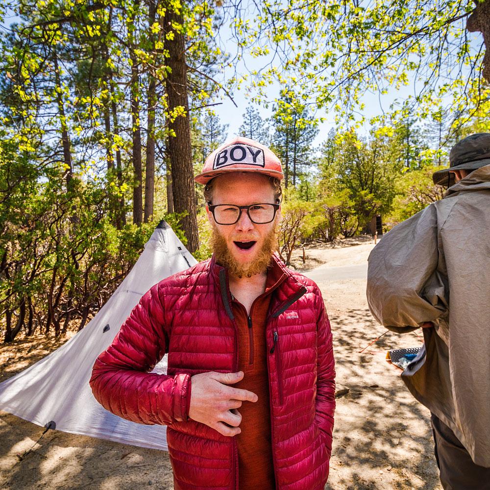 Adam at Mt. San Jacinto Park.