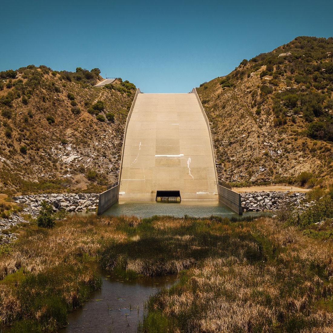 Cedar Spring dam, mile 324.