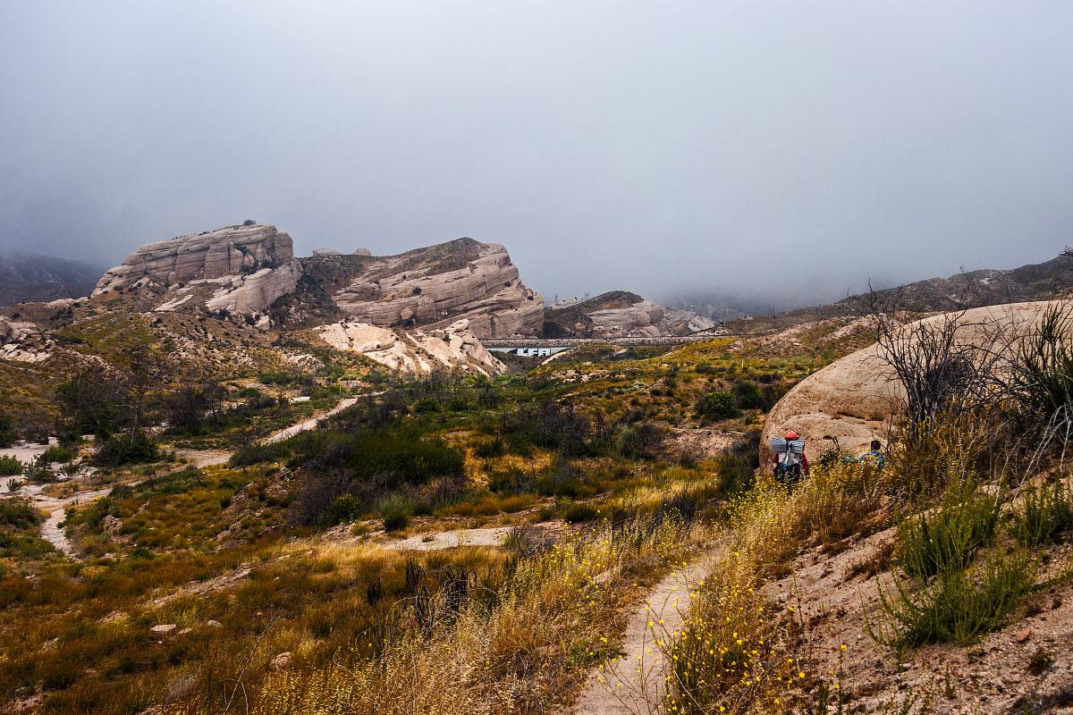 Cajon Pass view, mile 343.4