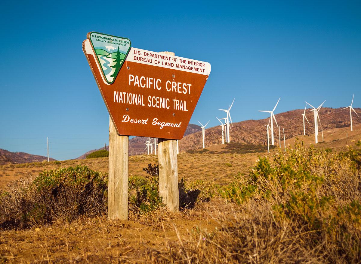 Desert signage, mile ~559.