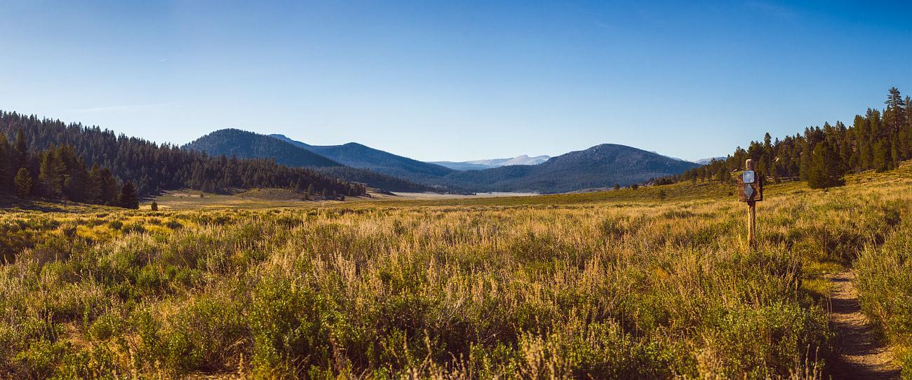 Monache Mountain and Deer Island.
