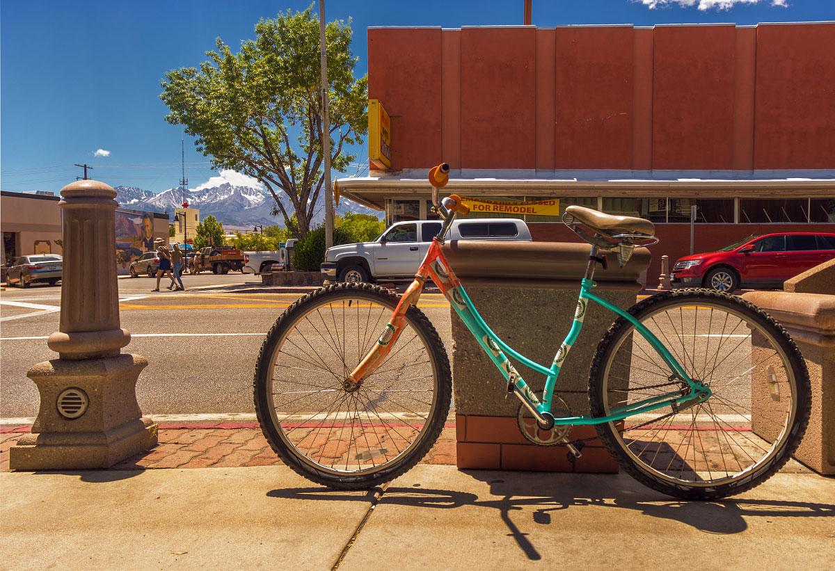 Hostel Bishop bicycle.