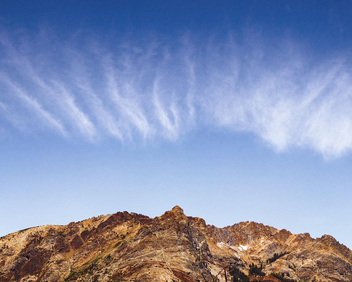 Wave clouds.