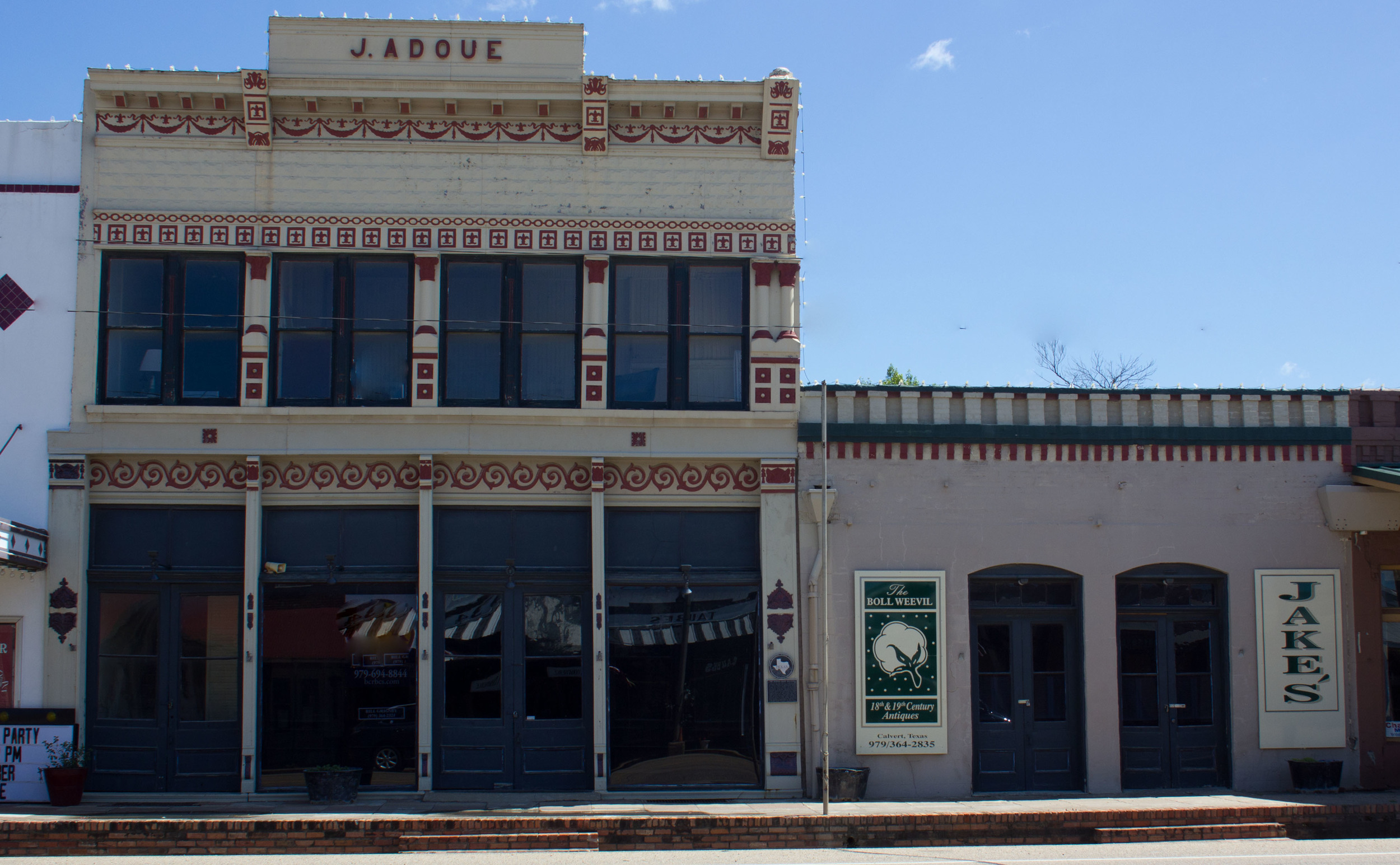 JAKE'S SALOON AND ADOUE BUILDING