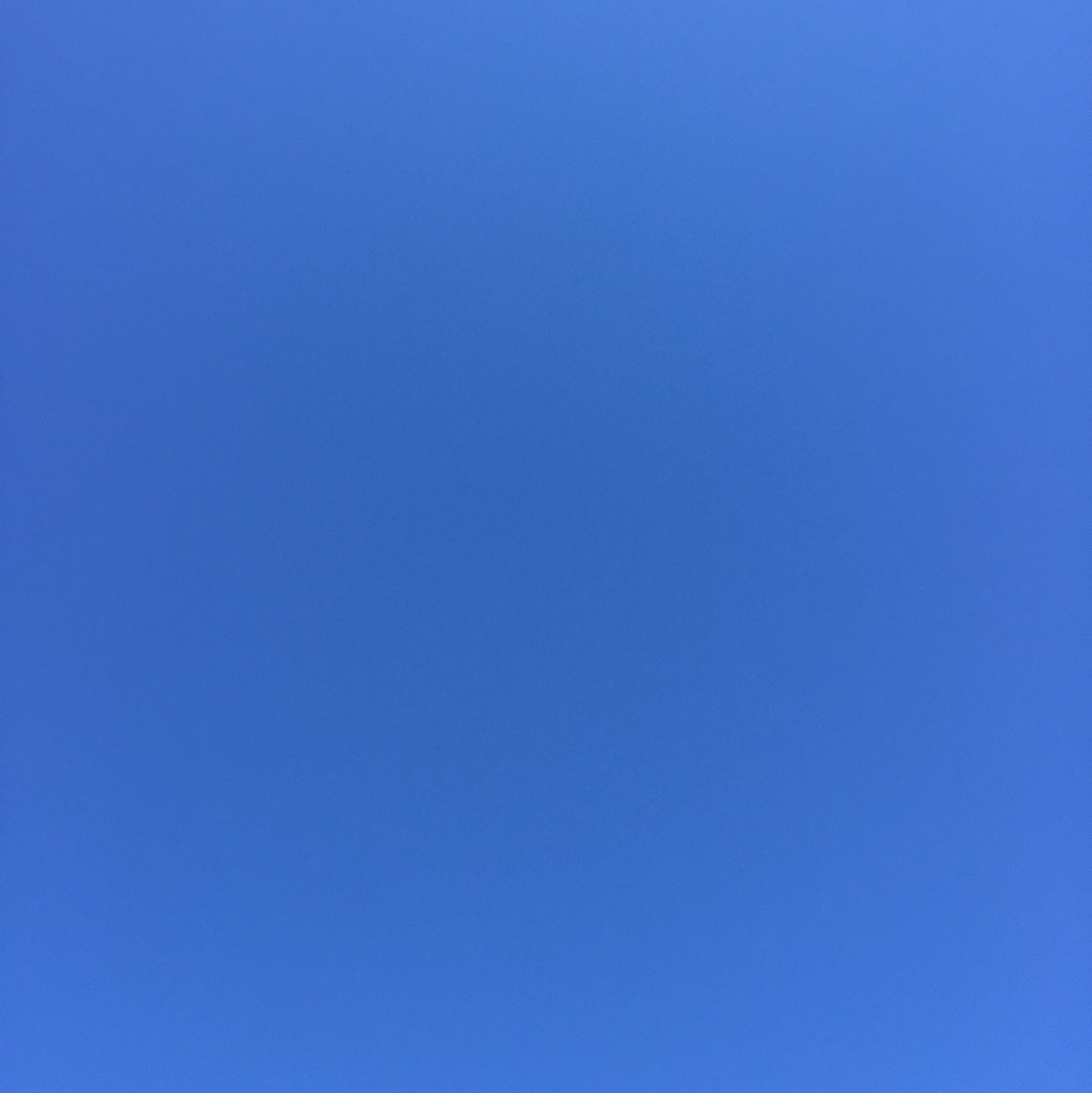 Pictured: A blue sky.