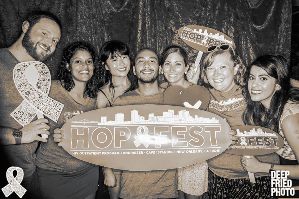 KduS board. Hopfest, New Orleans, 2016