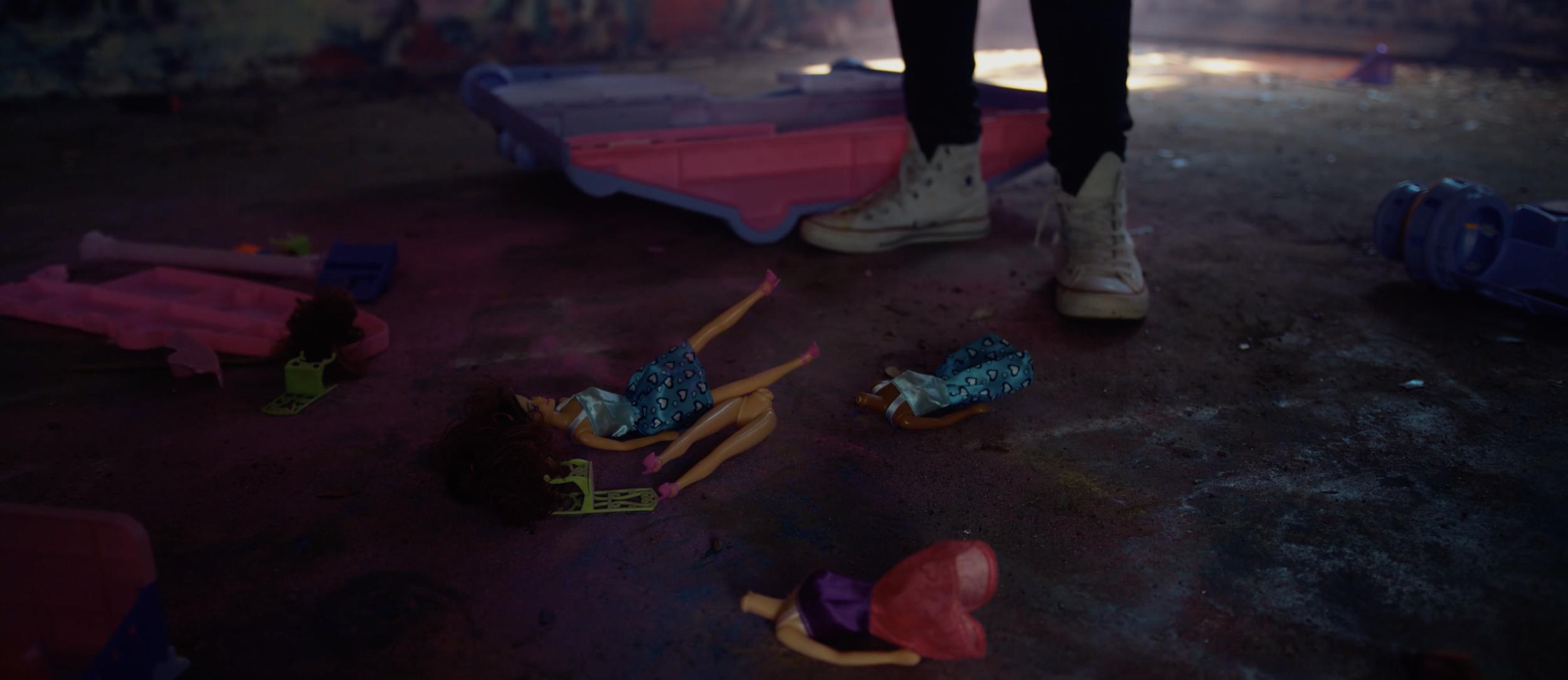 Renee Phoenix Swallow Music Video Doll Smash